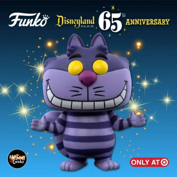 Funko Pop! Disney: Disneyland Resort 65th Anniversary - Cheshire Cat Funko Pop! Vinyl Figure - Target Exclusive