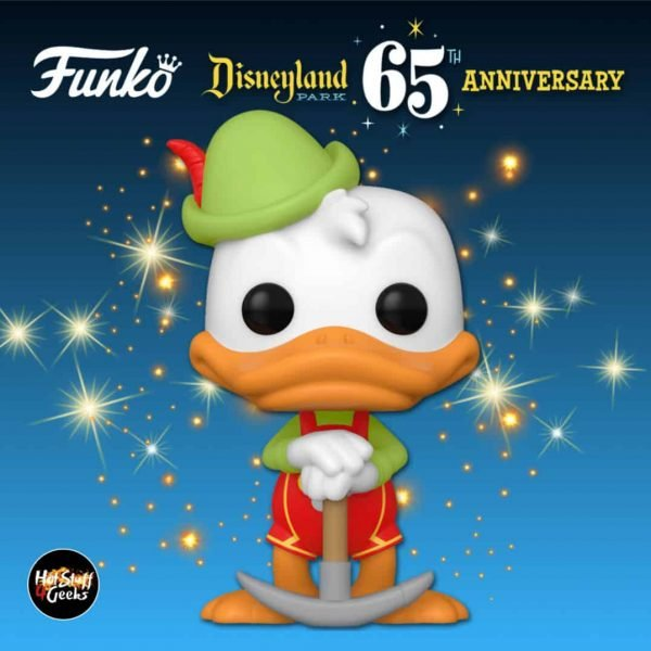 Funko Pop! Disney: Disneyland Resort 65th Anniversary - Matterhorn Bobsleds Donald In Lederhosen Funko Pop! Vinyl Figure