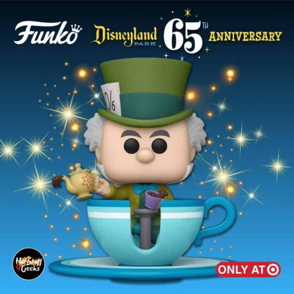 Funko Pop! Disney: Disneyland Resort 65th Anniversary - Mad Hatter At The Mad Tea Party Attraction Funko Pop! Vinyl Figure - Target Exclusive