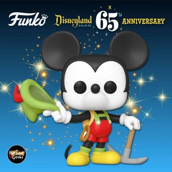 Funko Pop! Disney: Disneyland Resort 65th Anniversary - Matterhorn Bobsleds Mickey In Lederhosen Funko Pop! Vinyl Figure
