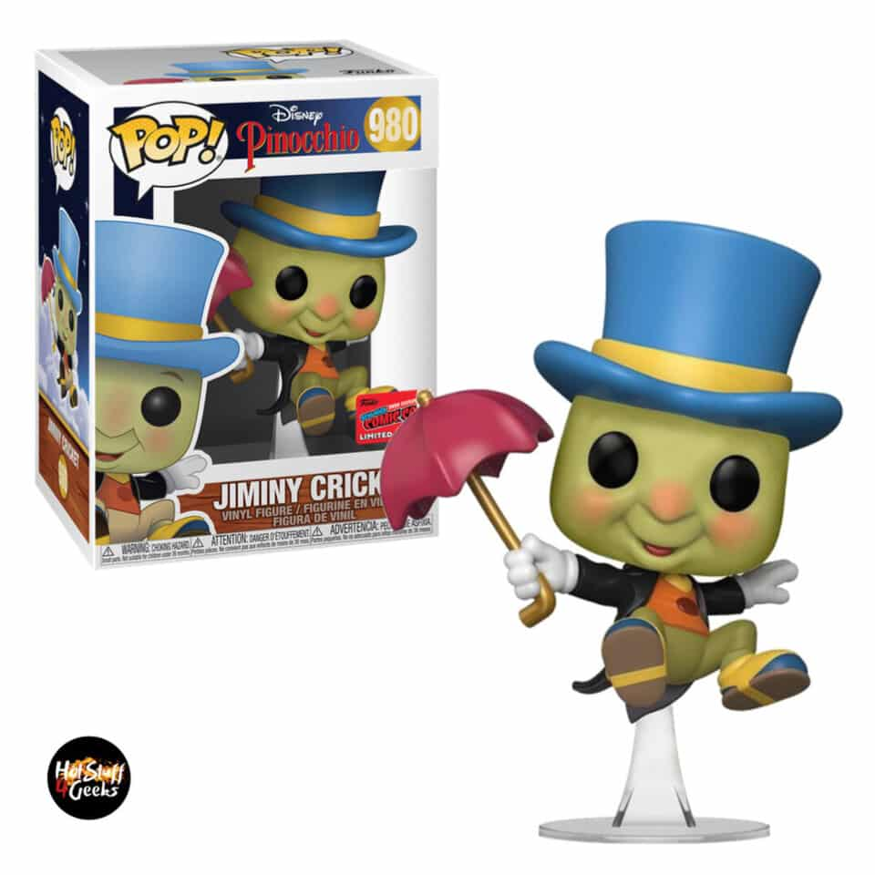 Funko Pop! Disney Pinocchio Jiminy Cricket Funko Pop! Vinyl Figure - NYCC 2020 Exclusive