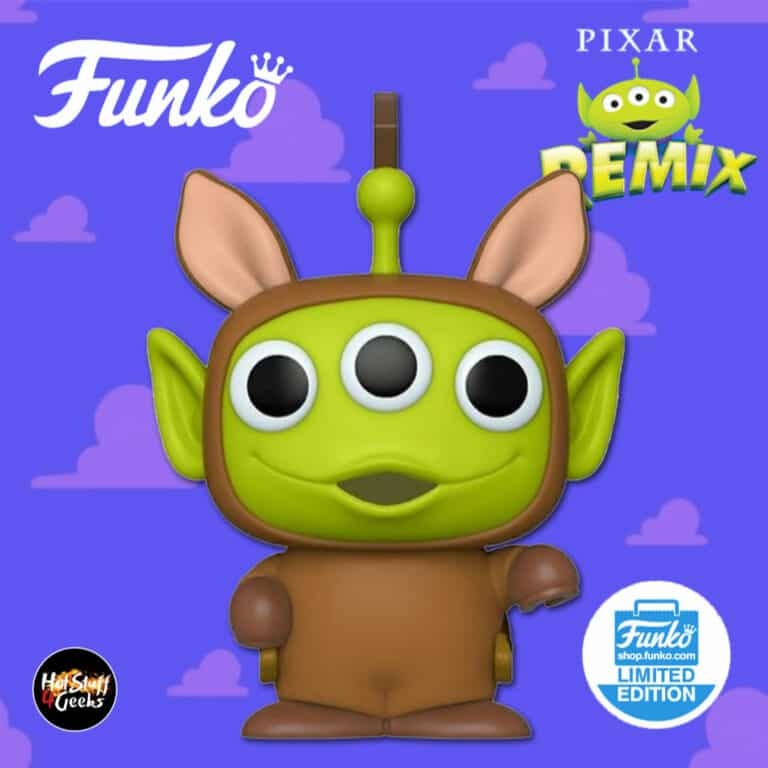 Funko Pop! Disney: Pixar Alien Remix - Alien as Bullseye Funko Pop! Vinyl Figure - Funko Shop Exclusive