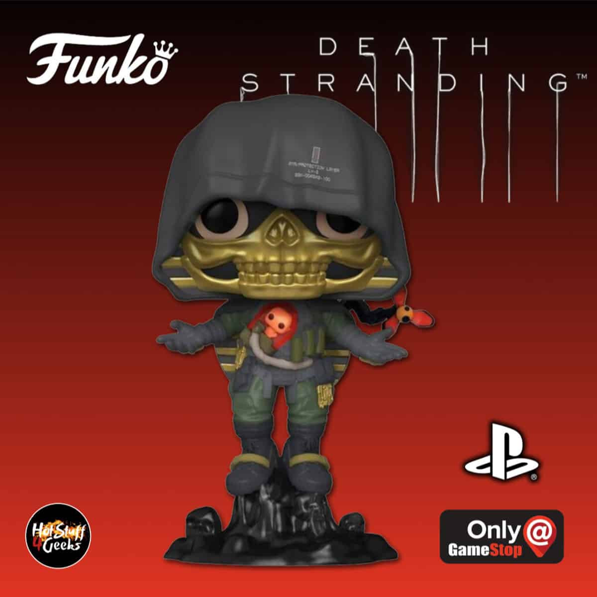 2020 New Funko Pop Death Stranding Higgs Monaghan Hot Stuff 4 Geeks This page of the guide to death stranding focuses on the ninth chapter. 2020 new funko pop death stranding