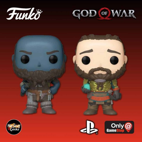 Funko Pop! Games: God of War - Brok and Sindri 2 Pack Funko Pop! Vinyl Figure - GameStop Exclusive