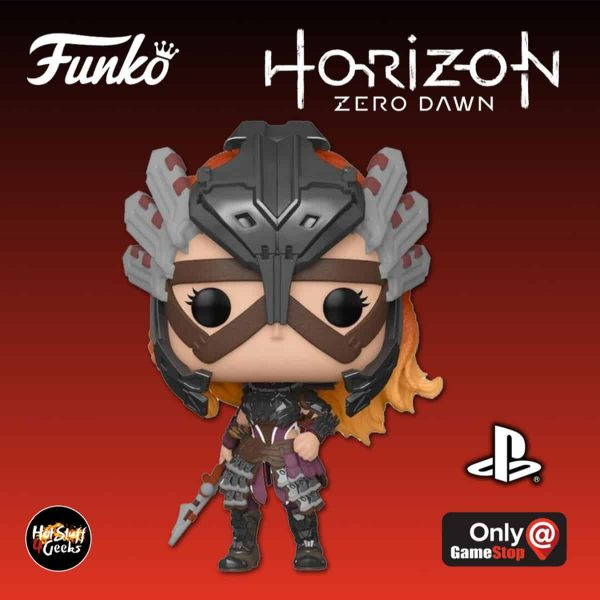 Funko Pop! Games Horizon Zero Dawn - Aloy in Shadow Stalwart Armor