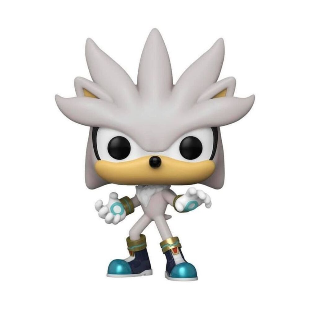 Funko Pop! Games: Sonic The Hedgehog - Sonic 30th Anniversary: Silver the Hedgehog Funko Pop! Vinyl Figure - Fye Exclusive