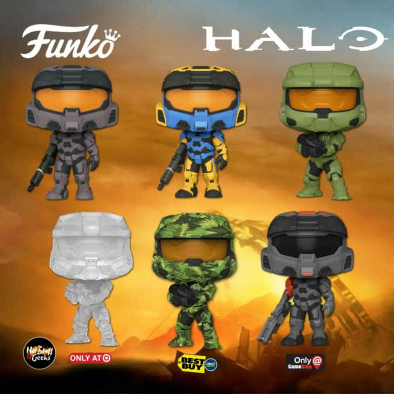 Funko Pop! Halo Funko Pop! Vinyl Figures - Wave 2020
