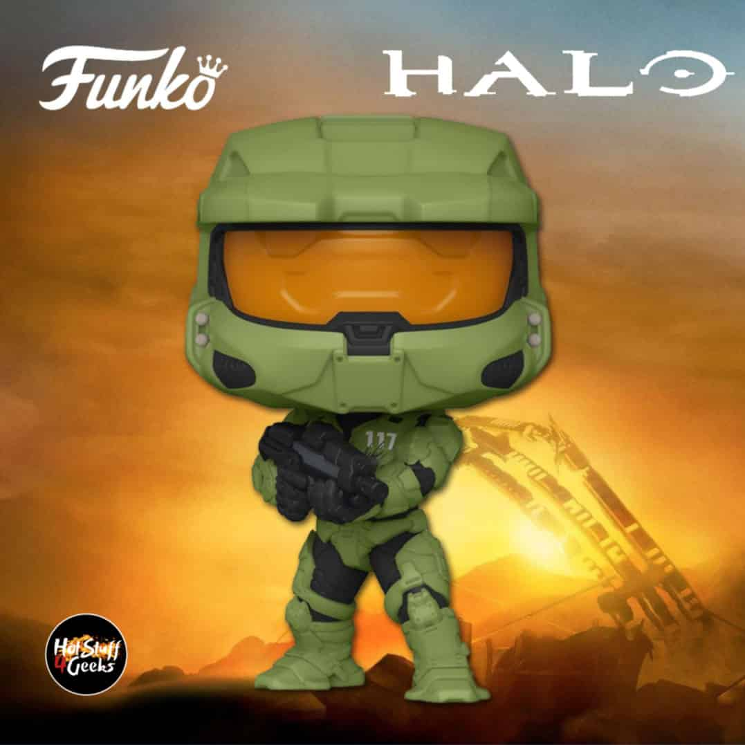 Funko Pop! Halo: Master Chief With MA40 Assault Rifle Funko Pop! Vinyl Figure