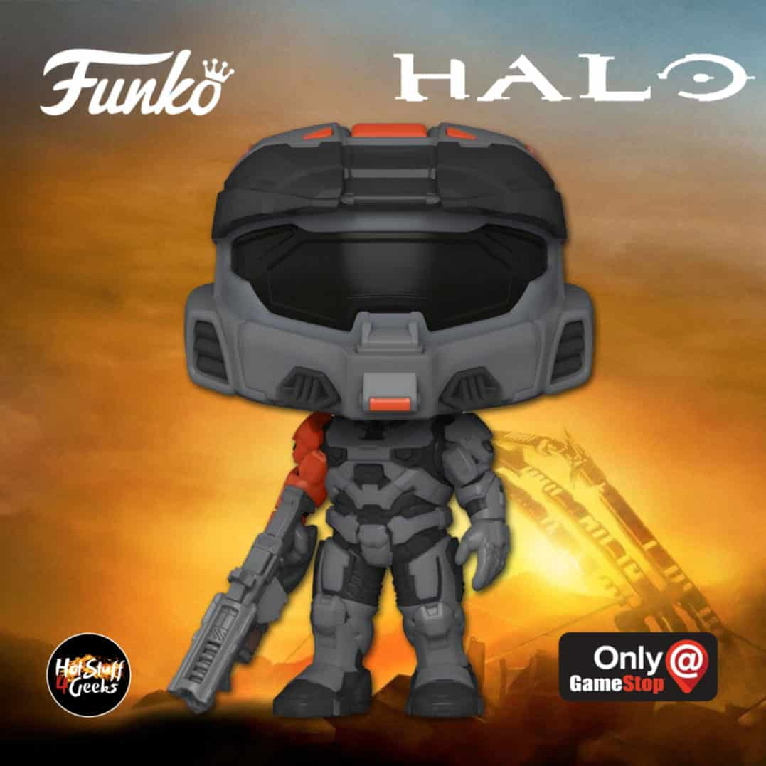 Funko Pop! Halo: Spartan Mark VII With Shock Rifle Funko Pop! Vinyl Figure - GameStop Exclusive