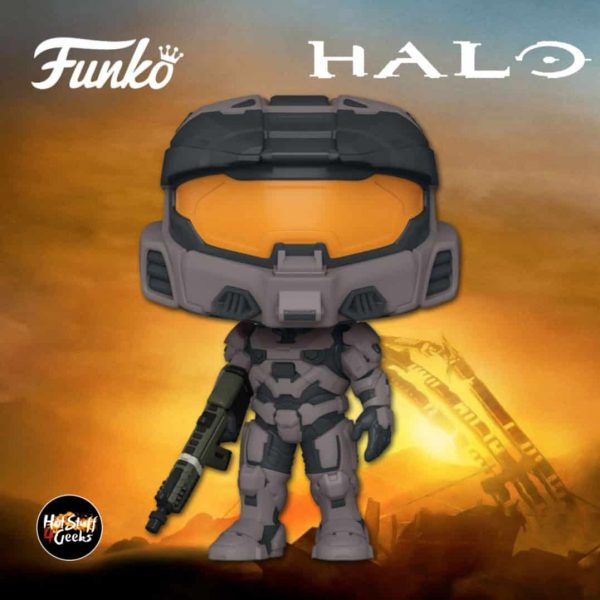 Funko Pop! Halo: Spartan Mark VII With VK78 Commando Rifle Funko Pop! Vinyl Figure