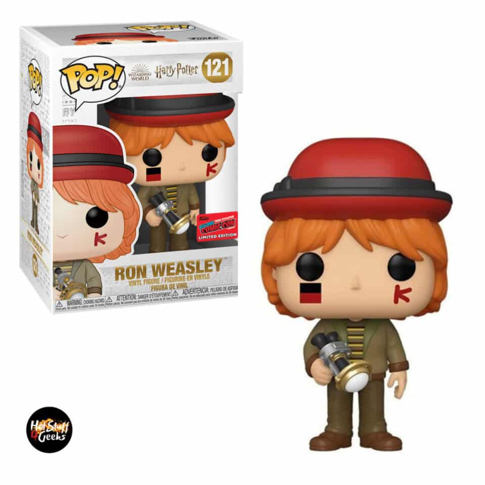 Funko Pop! Harry Potter - Ron Weasley at World Cup Funko Pop! Vinyl Figure - NYCC 2020 Exclusive