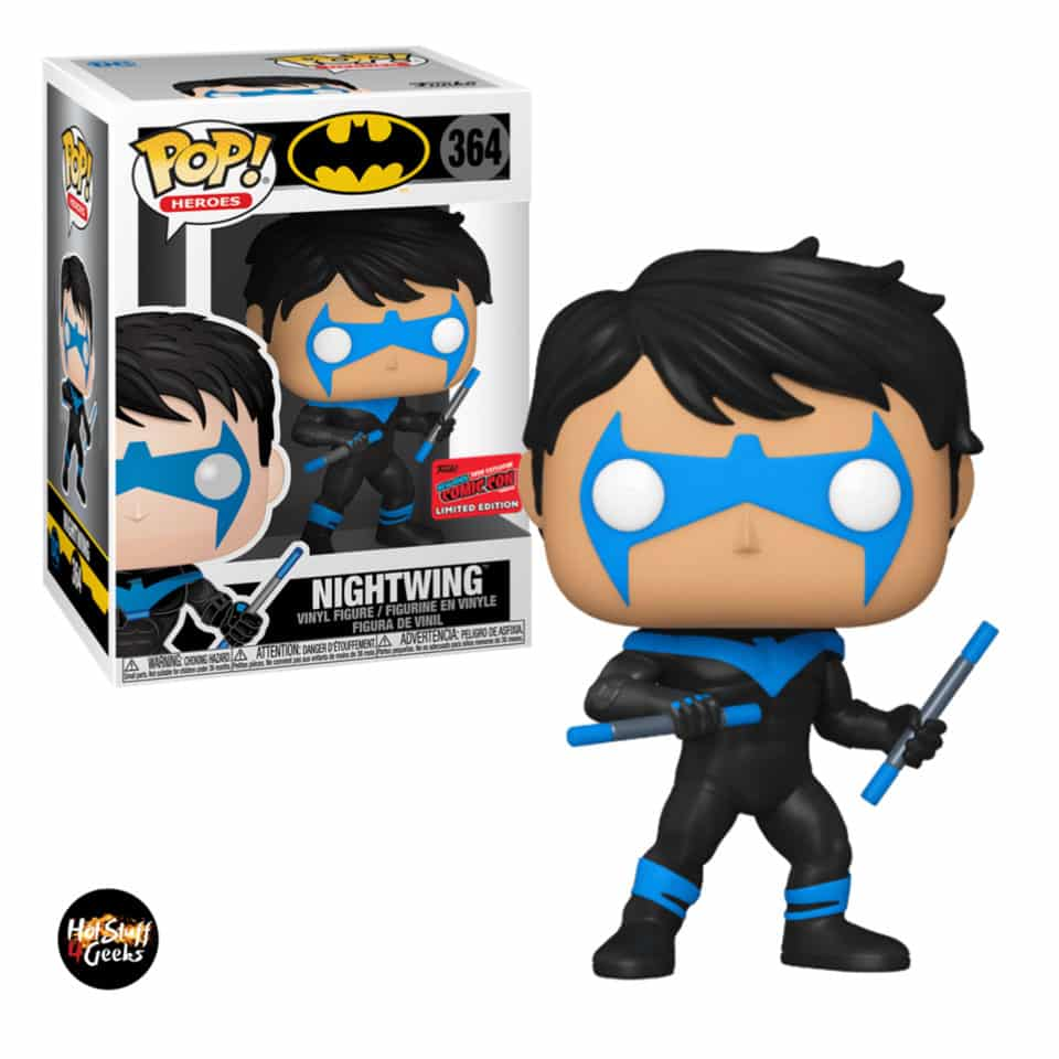 Funko Pop! Heroes: Batman DC Comics: Nightwing Funko Pop! Vinyl Figure - NYCC 2020 Exclusive