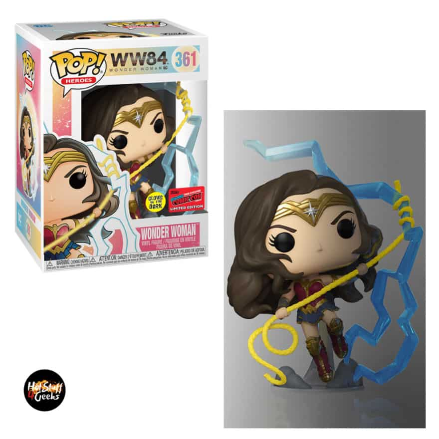 Funko Pop! Heroes: DC Wonder Woman - WW 84: Wonder Woman Funko Pop! Vinyl Figure - NYCC 2020 Exclusive