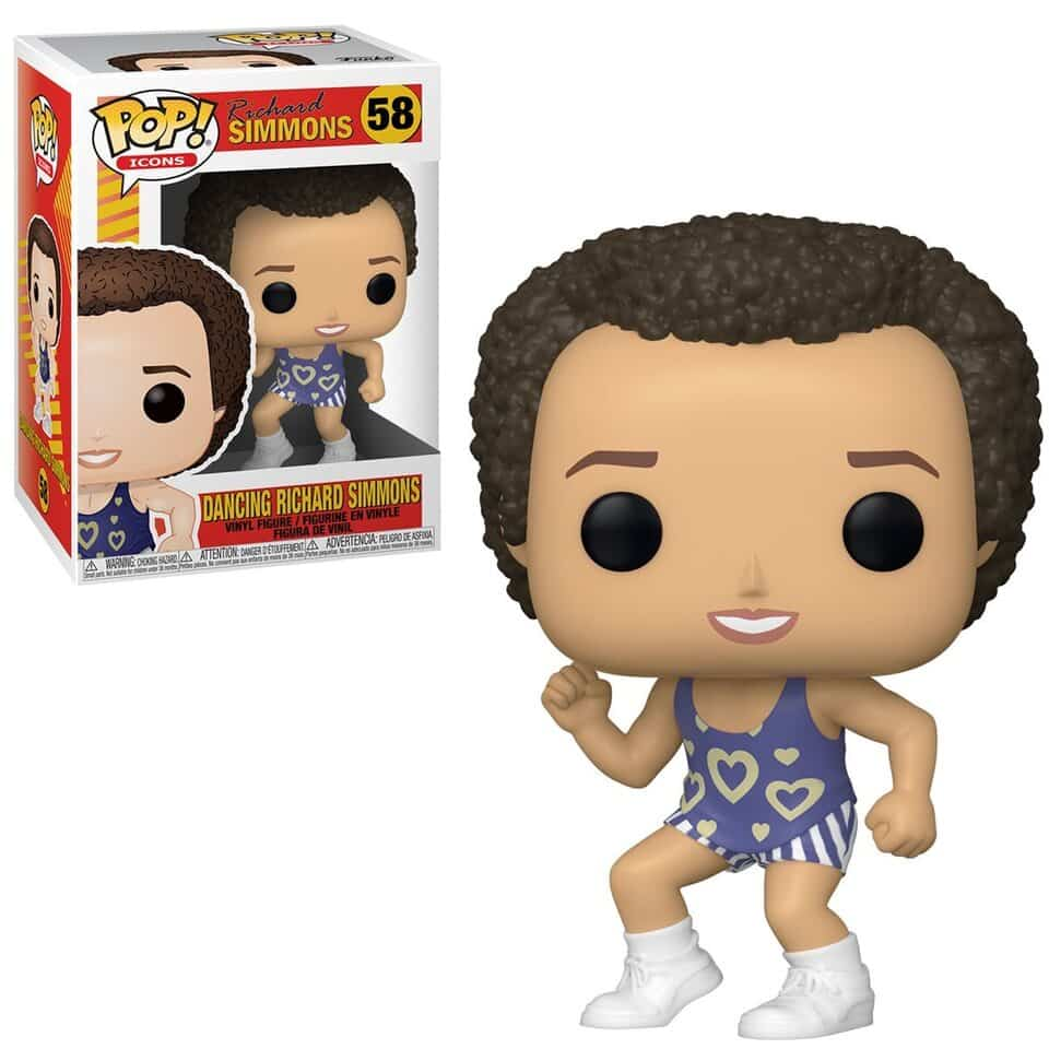 Funko Pop! Icons: Richard Simmons Dancing Funko Pop! Vinyl Figure