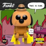 Funko Pop! Icons This Is Fine - This Is Fine Dog