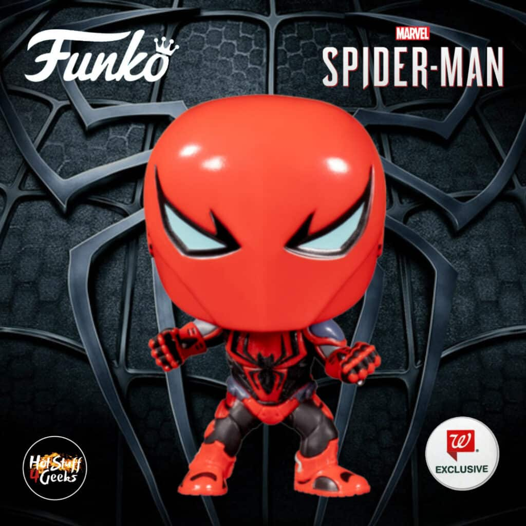 Funko Pop! Marvel Spider-Man - Spider-Armor MKIII Funko Pop! Vinyl Figure - Walgreens Exclusive