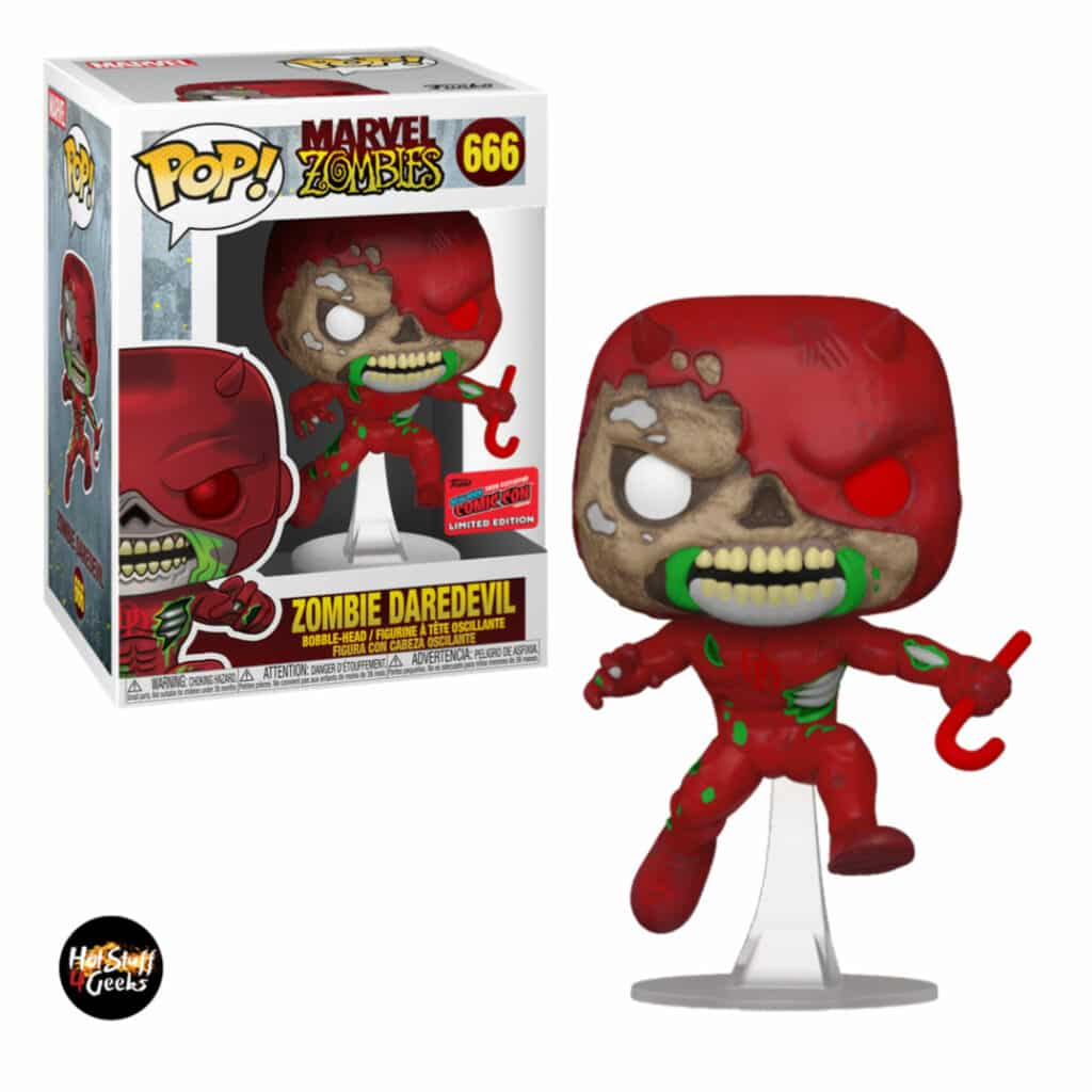 Funko Pop! Marvel Zombies: Zombie Daredevil Funko Pop! Vinyl Figure - NYCC 2020 Exclusive