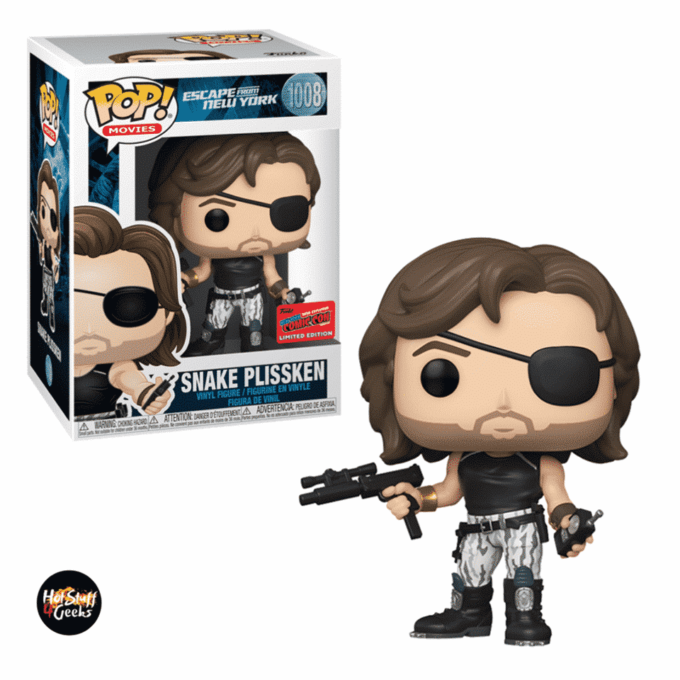 Funko Pop! Movies: Escape from New York – Snake Plissken Funko Pop! Vinyl Figure - NYCC 2020 Exclusive