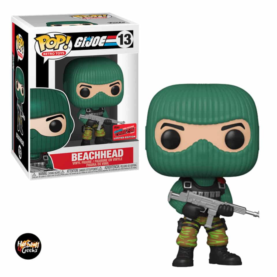 Funko Pop! Retro Toys: G.I. Joe - Beach Head Funko Pop! Vinyl Figure - NYCC 2020 Exclusive