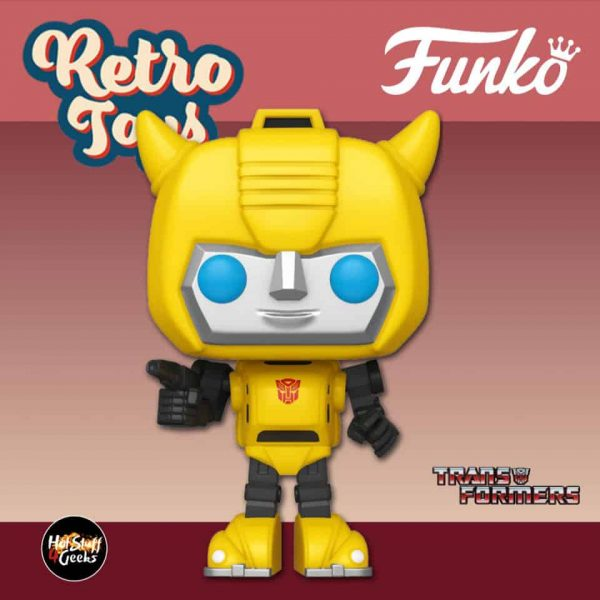 Funko Pop! Retro Toys: Transformers - Bumblebee Funko Pop! Vinyl Figure