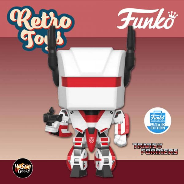 Funko Pop! Retro Toys: Transformers - Jetfire Funko Pop! Vinyl Figure - Funko Shop Exclusive