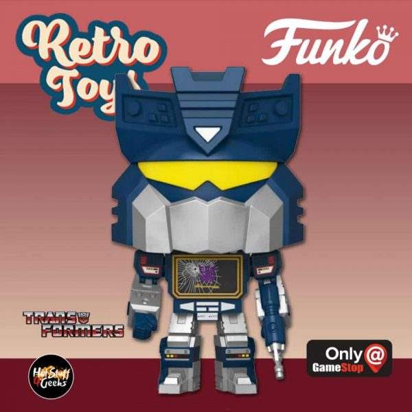 Funko Pop! Retro Toys: Transformers - Siege Soundwave Funko Pop! Vinyl Figure - GameStop Exclusive