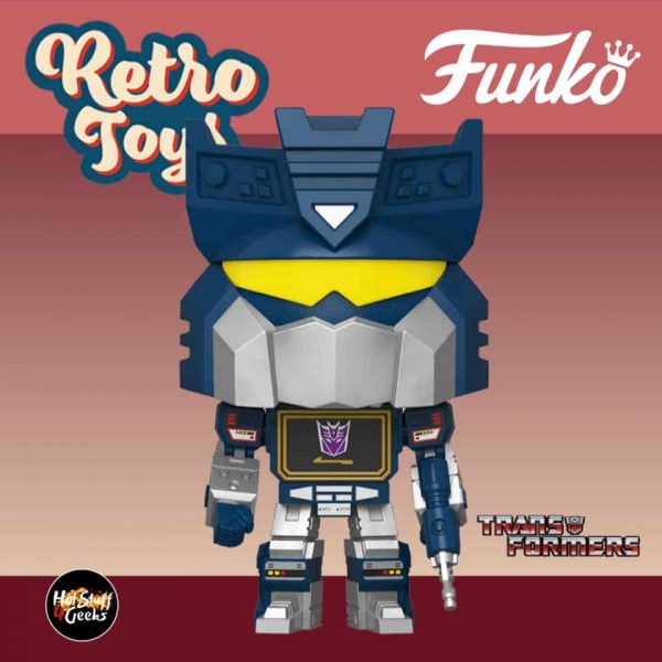 Funko Pop! Retro Toys: Transformers - Soundwave Funko Pop! Vinyl Figure
