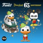 Funko Pop! Rides: Disneyland Resort 65th Anniversary - Donald Duck, Donald In Lederhosen, and Mickey In Lederhosen at Matterhorn Bobsleds Attraction Funko Pop! Vinyl Figures