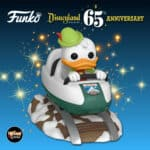 Funko Pop! Rides: Disneyland Resort 65th Anniversary - Matterhorn Bobsleds Attraction And Donald Duck Funko Pop! Vinyl Figure
