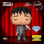 Funko Pop! Rocks: Elvis Presley - 1968 Comeback Special Diamond Glitter Funko Pop! Vinyl Figure - Entertainment Earth Exclusive