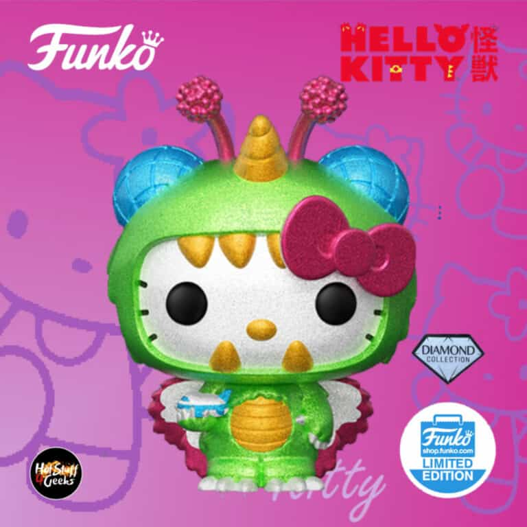 Funko Pop! Sanrio: Hello Kitty x Kaiju - Kitty (Sky) Diamond Glitter Collection Funko Pop! Vinyl FigurFunko Pop! Sanrio: Hello Kitty x Kaiju - Kitty (Sky) Diamond Glitter Collection Funko Pop! Vinyl Figure - Funko Shop Exclusive