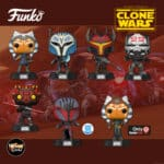 Funko Pop! Star Wars: The Clone Wars - Wrecker, Bo-Katan Kryze, Gar Saxon, Darth Maul, Ahsoka, Ahsoka With New Pose (GameStop Exclusive) and Mandalorian Super Commando (Funko Shop Exclusive) Funko Pop! Vinyl Figures 2020 release