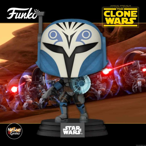 Funko Pop! Star Wars: The Clone Wars - Bo-Katan Kryze Funko Pop! Vinyl Figure 2020 release
