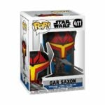 Funko Pop! Star Wars: The Clone Wars - Gar Saxon Funko Pop! Vinyl Figure 2020 release