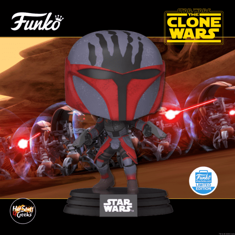 Funko Pop! Star Wars: The Clone Wars - Mandalorian Super Commando Funko Pop! Vinyl Figure - Funko Shop Exclusive 2020 release