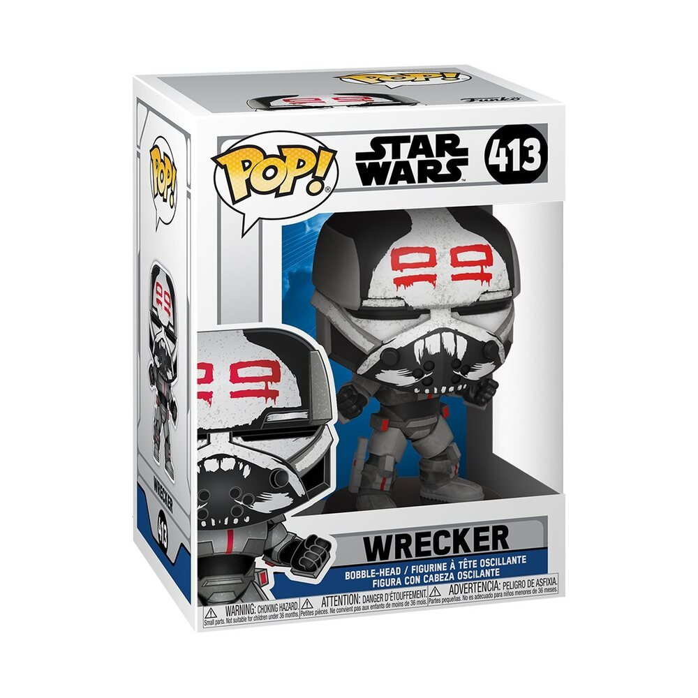 Funko Pop! Star Wars: The Clone Wars - Wrecker Funko Pop! Vinyl Figure 2020 release