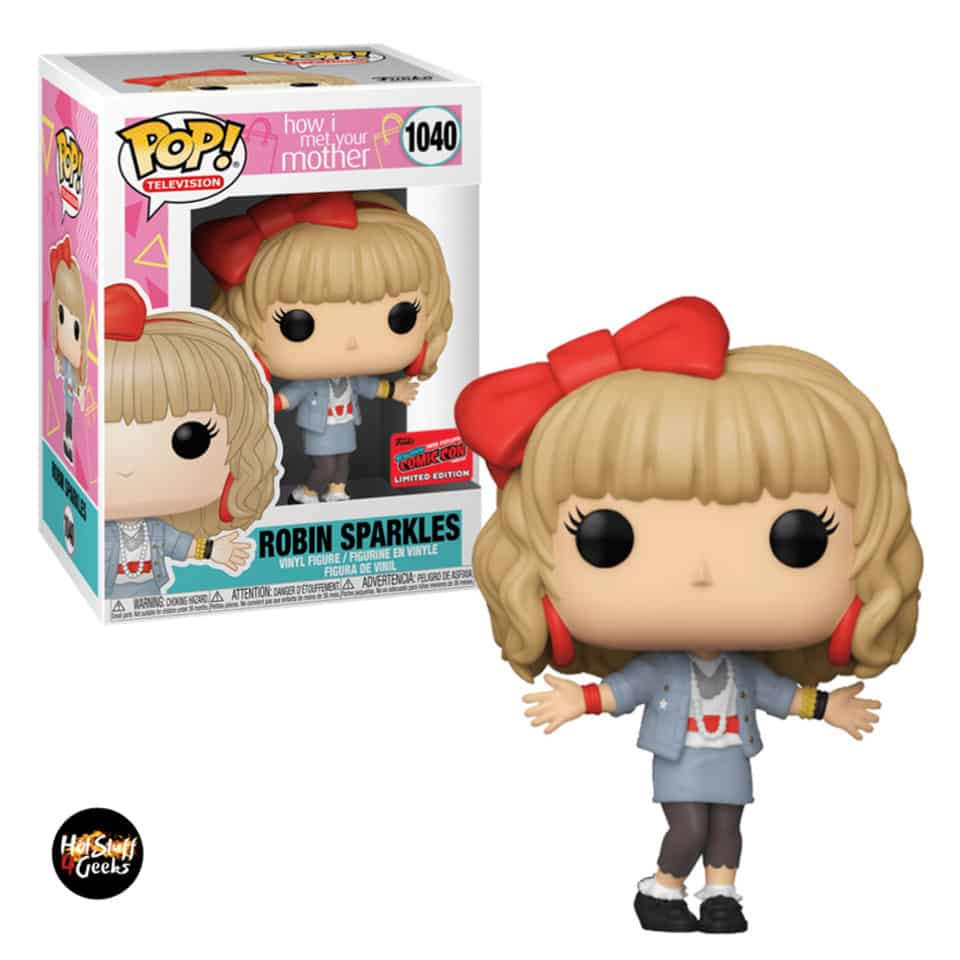 Funko Pop! Television: How I Met Your Mother - Robin Sparkles Funko Pop! Vinyl Figure - NYCC 2020 Exclusive