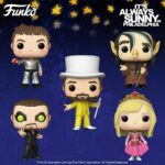 Funko Pop! Television: It's Always Sunny in Philadelphia - Dennis Starring as The Dayman, Frank Starring as The Troll, Charlie Starring as The Dayman, Mac Starring as The Nightman and Dee Starring as The Princess Funko Pop! Vinyl Figures