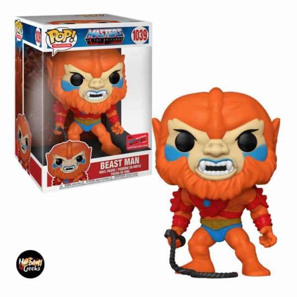 Funko Pop! Television: Masters of the Universe - Beast Man Funko Pop! Vinyl Figure - NYCC 2020 Exclusive