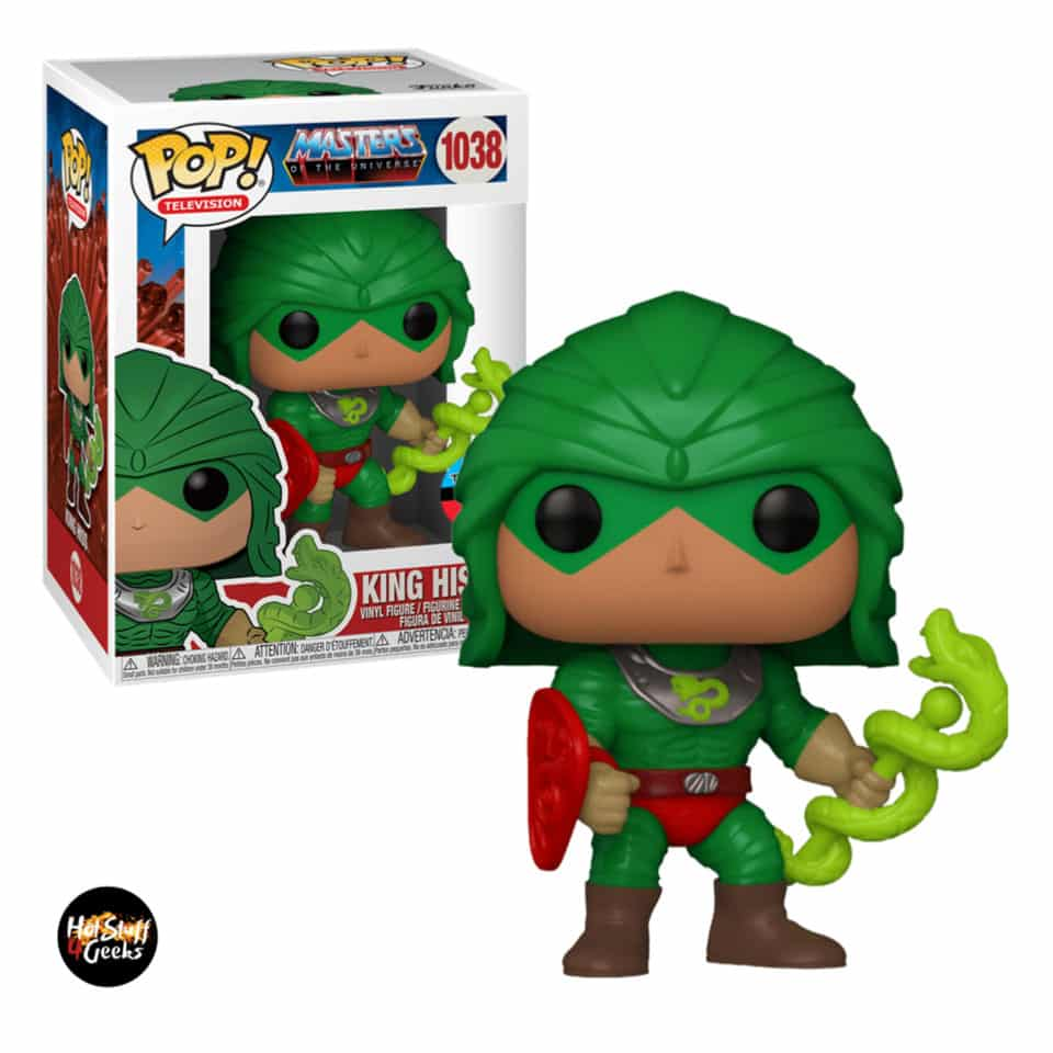 Funko Pop! Television: Masters of the Universe - King Hiss Funko Pop! Vinyl Figure - NYCC 2020 Exclusive