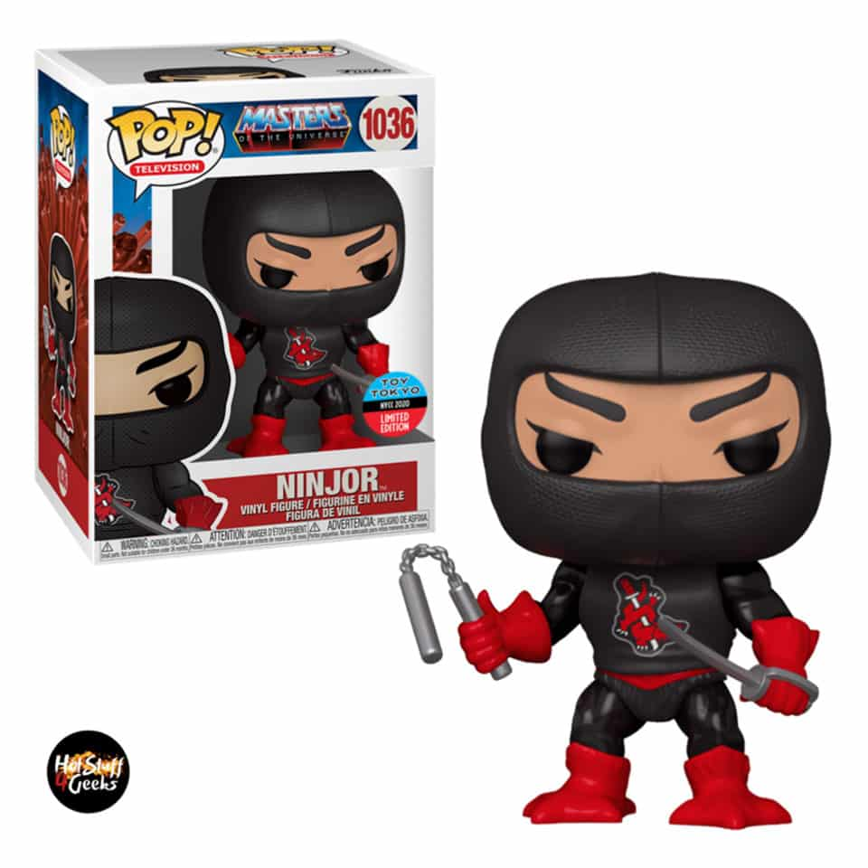 Funko Pop! Television: Masters of the Universe - Ninjor Funko Pop! Vinyl Figure - NYCC 2020 Exclusive
