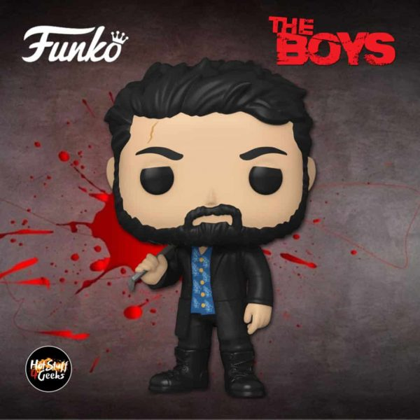 Funko Pop! Television: The Boys - Billy Butcher Funko Pop! Vinyl Figure