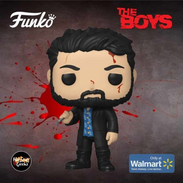 Funko Pop! Television: The Boys - Billy Butcher (Bloody) Funko Pop! Vinyl Figure - Walmart Exclusive