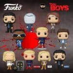 Funko Pop! Television: The Boys - Hughie, Billy Butcher, Homelander, Queen Maeve, Starlight With Glow-In-The-Dark Chase Variant, Starlight in Bodysuit (Amazon Exclusive), Billy Butcher Bloody (Walmart Exclusive), and Homelander Glowing Eyes (Target Exclusive) Funko Pop! Vinyl Figures - Wave 2020
