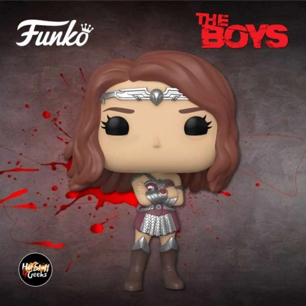Funko Pop! Television: The Boys - Queen Maeve Funko Pop! Vinyl Figure