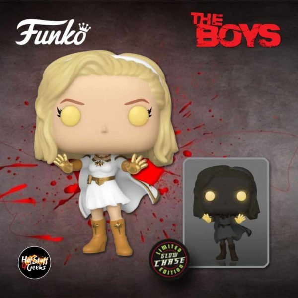 Funko Pop! Television: The Boys - Starlight With Glow-In-The-Dark (GITD Chase Variant Funko Pop! Vinyl Figure