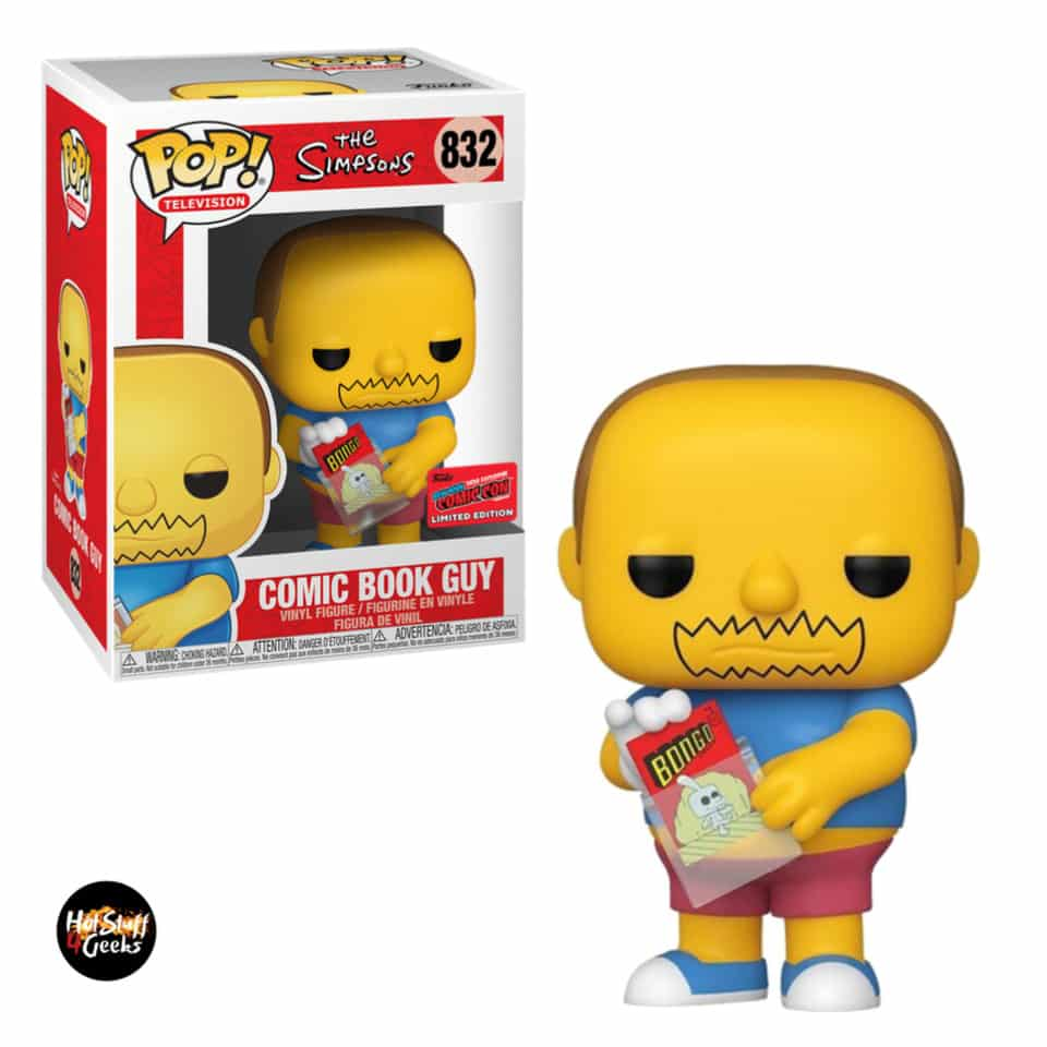 Funko Pop! Television The Simpsons - Comic Book Guy Funko Pop! Vinyl Figure - NYCC 2020 Exclusive
