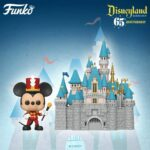 Funko Pop! Town: Disneyland Resort 65th Anniversary - Sleeping Beauty Castle And Mickey Mouse Funko Pop! Vinyl Figure