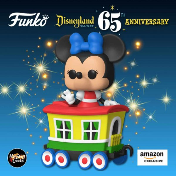 Funko Pop! Trains: Disneyland Resort 65th Anniversary - Minnie Mouse On The Casey Jr. Circus Train Attraction Funko Pop! Vinyl Figure - Amazon Exclusive