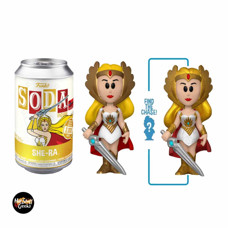 Funko Vinyl Soda: Masters of the Universe - She-Ra With Glitter Chase Variant - NYCC 2020 Exclusive